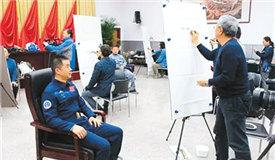 文艺志愿者走进北京航天城